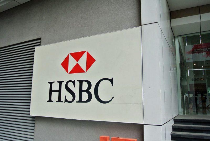 ①HSBC銀行に預金口座を作ってきた