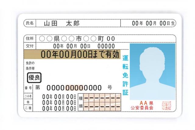 自動車免許証